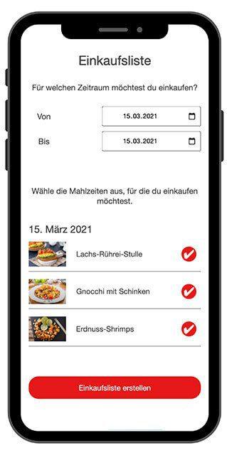 App Einkaufsliste
