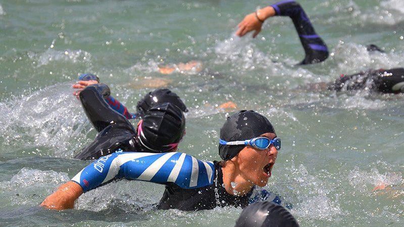 Katja Triathlon Schwimmen